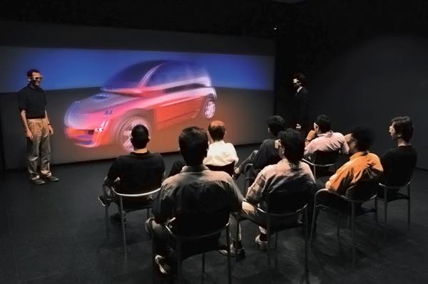 система виртуальной реальности CAD-центр, CAD-wall