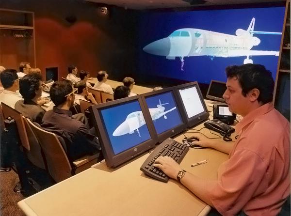 система виртуальной реальности CAD центр