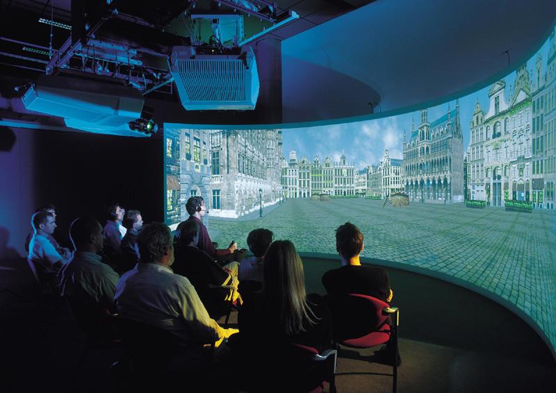 Панорамная комната виртуальной реальности