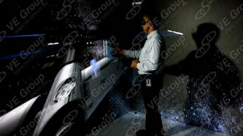 Комната виртуальной реальности МГУ и тренажер космонавта