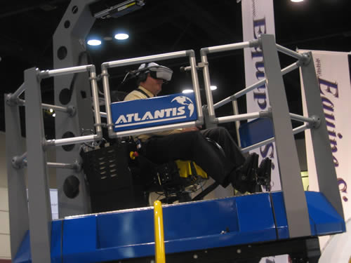 авиасимулятор, тренажер в виртуальной реальности