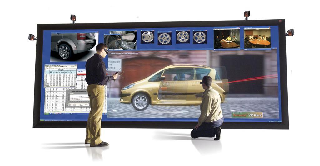 Виртуальная реальность, CAD-wall
