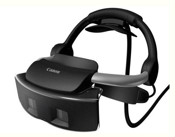 Шлем дополненной реальности от Canon