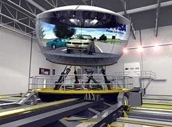 Тренажер вождения в виртуальной реальности