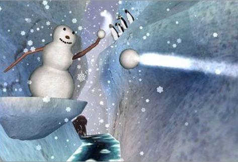 Виртуальная реальность ослабляет болевые ощущения, Игра SnowWorld