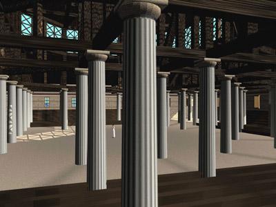 древнегреческий театр в виртуальной реальности