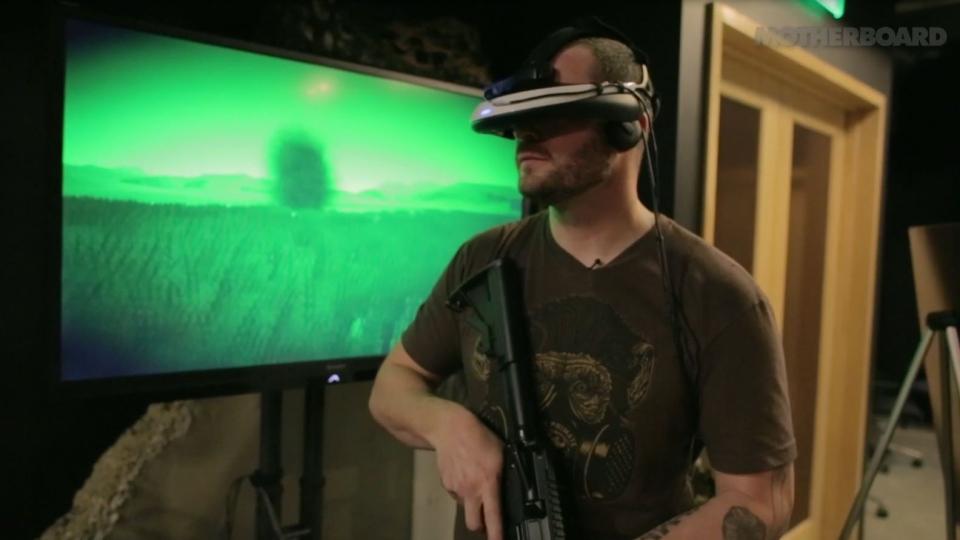 """ветеран лечит """"афганский синдром"""" в виртуальной реальности"""