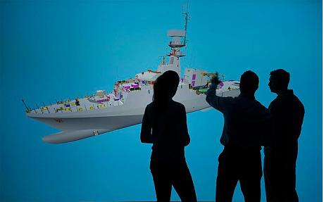 корабль в виртуальной реальности