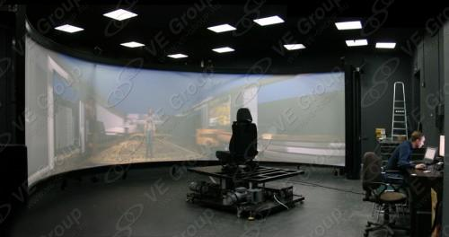 Система виртуальной реальности МГУ