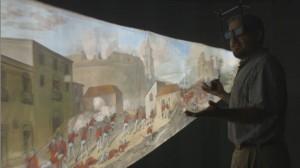 старинный предмет искусства в виртуальной реальности